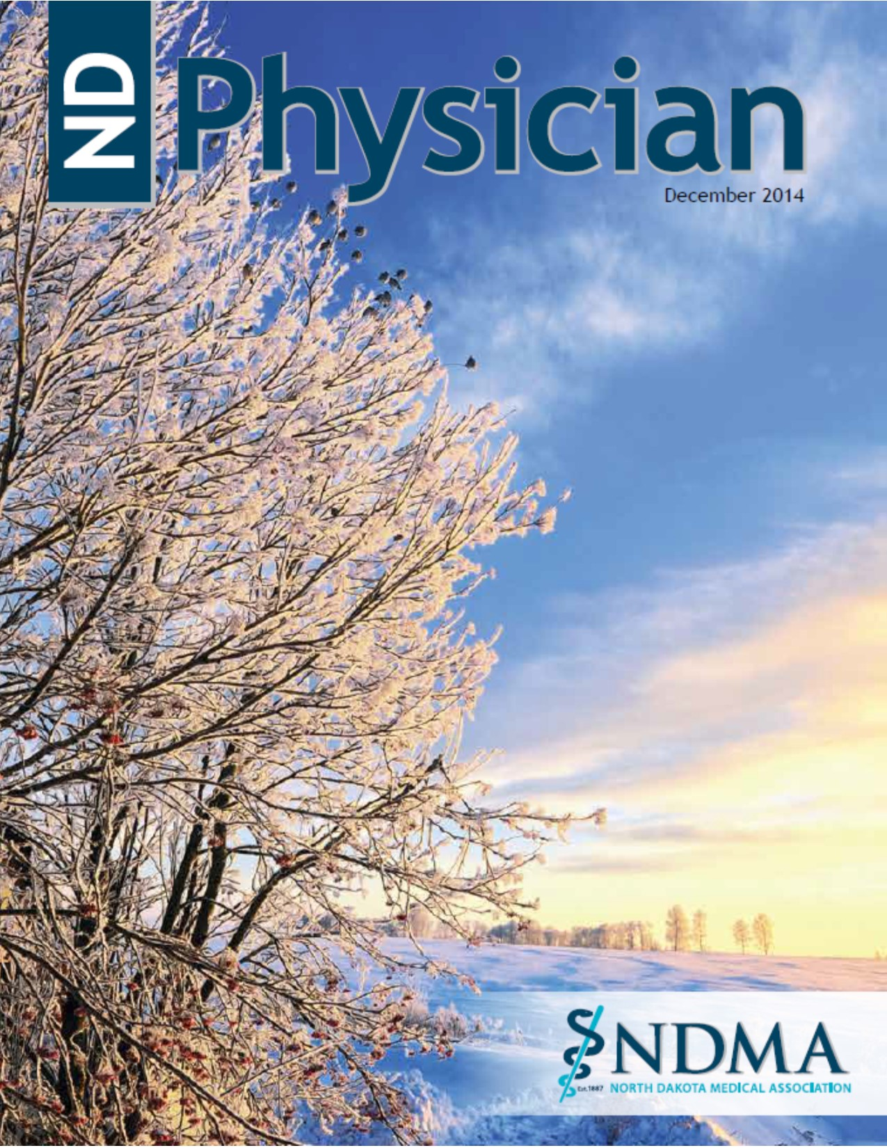 ND Physician December 2014 magazine cover
