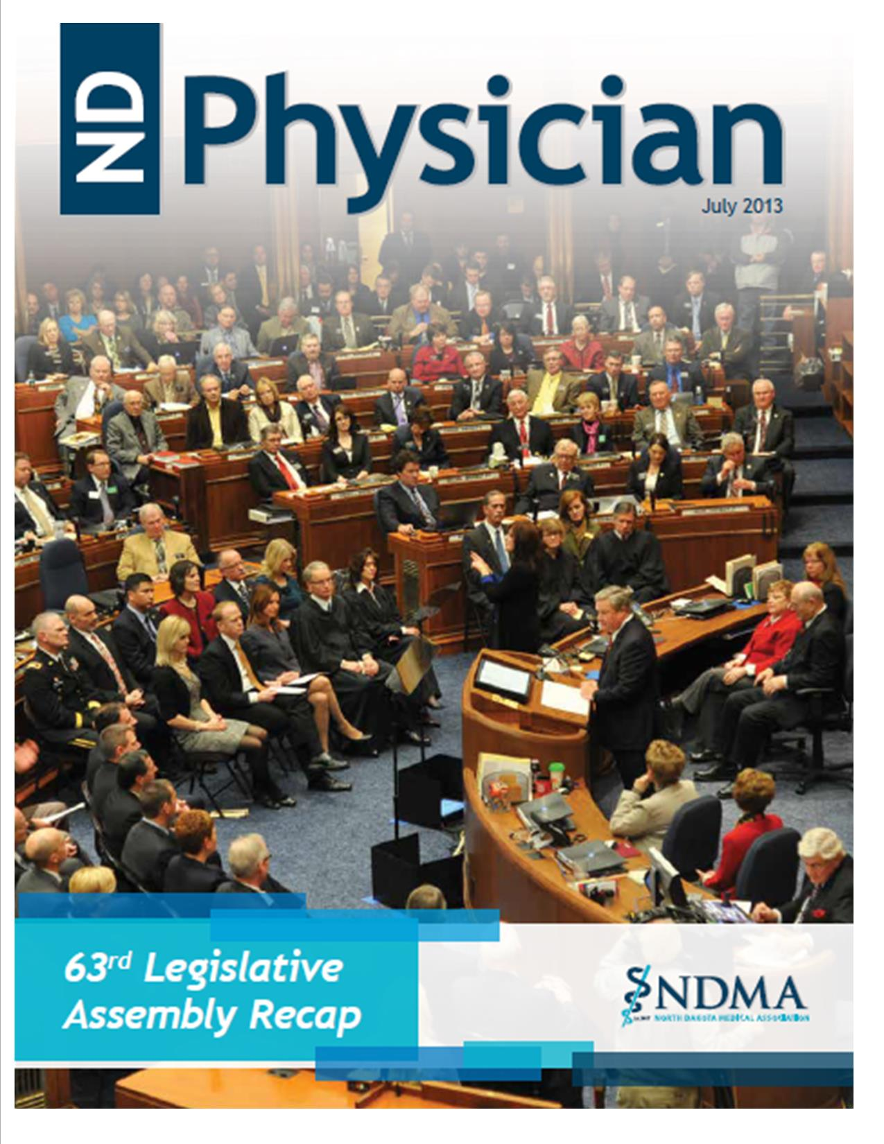 ND Physician July 2013 magazine cover