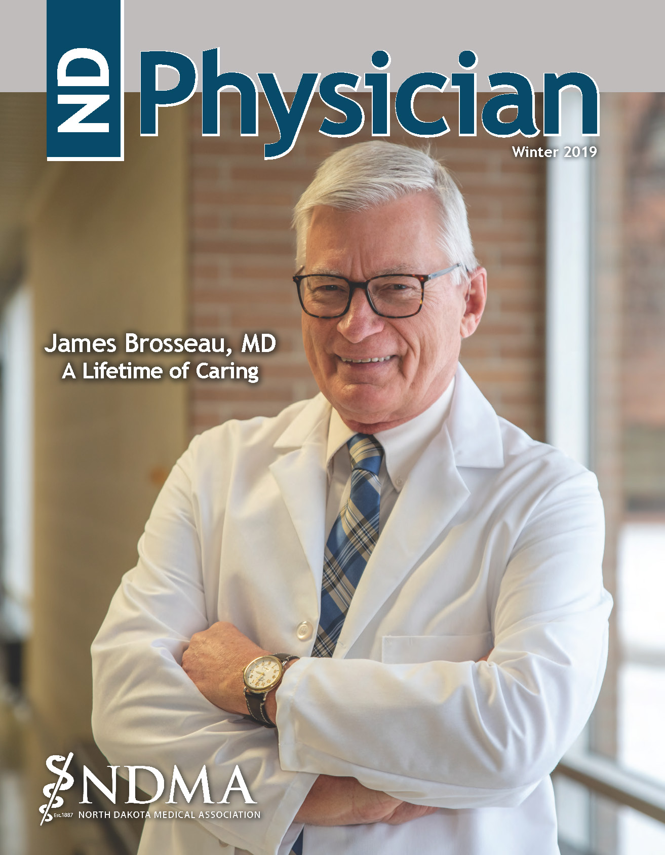 ND Physician Winter 2019 magazine cover