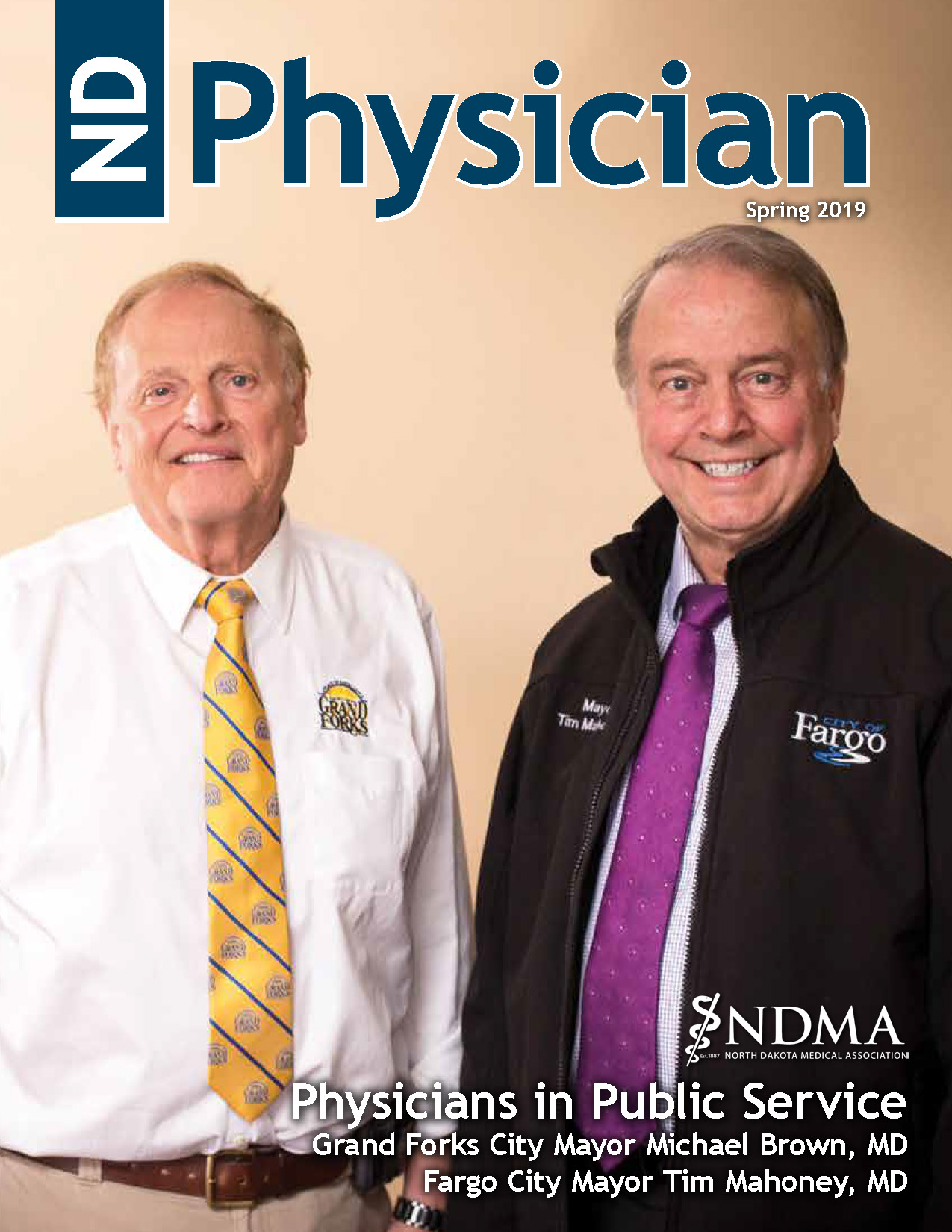 ND Physician Spring 2019 magazine cover