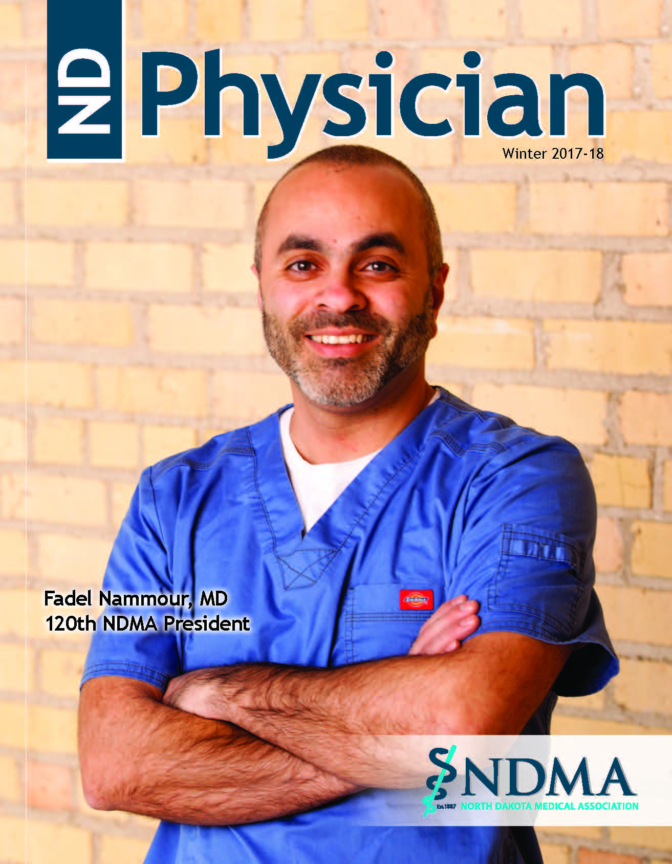 ND Physician Winter 2017-18 magazine cover